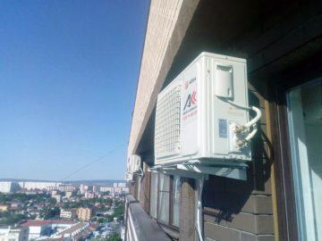 Монтаж сплит-системы недорого в Анапе