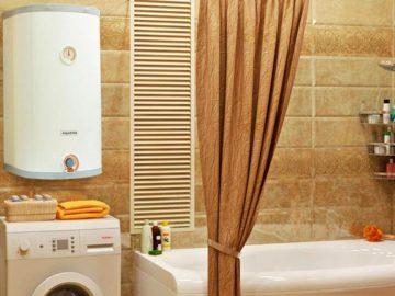 Современный газовый накопительный водонагреватель